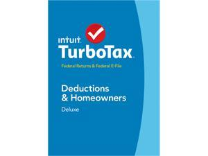 Intuit TurboTax Deluxe Federal 2014 For Windows - Download