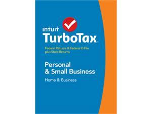 Intuit TurboTax Home & Business 2014 For Windows - Download