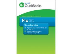 Intuit QuickBooks Pro 2015 (OEM Attach Only)- Download