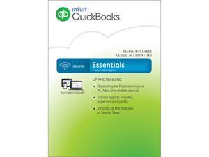 Intuit QuickBooks Online Essentials 2016 - Digital Delivery