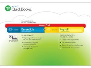Intuit QuickBooks Online Essentials with Payroll 2016 - Digital Delivery
