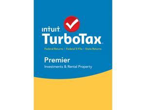 Intuit TurboTax Premier 2015 Fed + State + Efile Tax Software