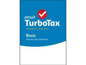 Intuit TurboTax Basic 2015 Fed + Efile for Windows - Download