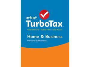 Intuit TurboTax Home & Business 2015 Fed + State + Efile for Mac - Download