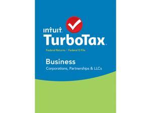 Intuit TurboTax Business 2015 Fed + Efile for Windows - Download
