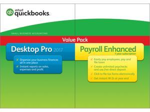 Intuit Quickbooks Desktop Pro with Enhanced Payroll 2017