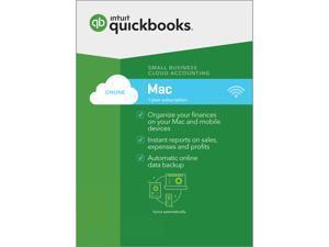 Intuit Quickbooks Mac Online 2017