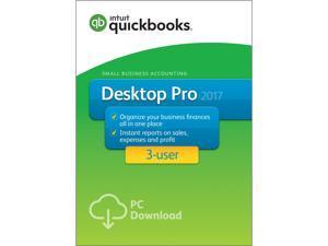 QuickBooks Desktop Pro 2017 - 3 User - Download