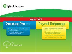 QuickBooks Desktop Pro with Enhanced Payroll 2017 - Download