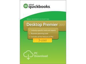 QuickBooks Desktop Premier 2017 - 3 User - Download