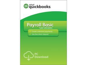 QuickBooks Desktop Basic Payroll 2017 - Download