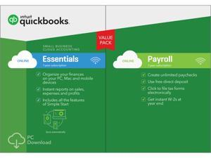 QuickBooks Online Essentials with Payroll 2017 - Digital Delivery
