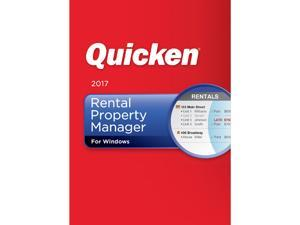 Quicken 2017 Rental Property Manager