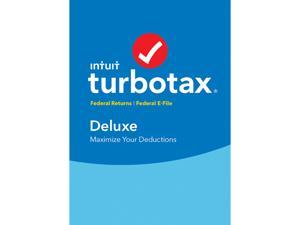 Intuit TurboTax Deluxe 2016 Fed + Efile for Windows - Download