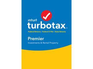 Intuit TurboTax Premier 2016 Fed + State + Efile for Windows