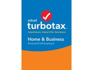 Intuit TurboTax Home & Business 2016 Fed + State + Efile for Mac - Download