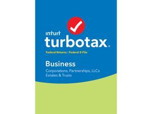 Intuit TurboTax Business 2016 Fed + Efile Tax Software