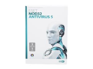 ESET NOD32 Antivirus 5 - 3 PCs