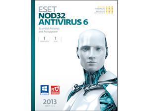 ESET Nod32 Antivirus 6 - 1 PC - OEM