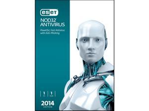 ESET NOD32 Antivirus 2014 - 1 PC - Download