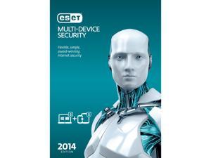 ESET Multi-Device Security 2014 - 5 PCs + 5 Android Devices