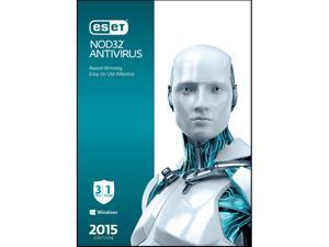 ESET NOD32 Antivirus 2015 - 3 PCs