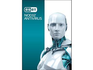 ESET NOD32 Antivirus for 3 PCs + H&R BLOCK Tax Software Delux