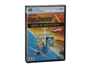 Flight Simulator X Gold Edition PC