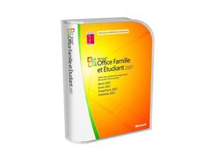 Microsoft Office Home and Student 2007 Win32 French CD
