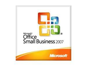 Microsoft Office Small Business 2007 V2 (no media, Lic only) English DSP MLK 1-Pack