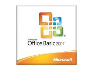 Microsoft Office Basic 2007 with MS Office Professional 2007 (Trial)-License - OEM