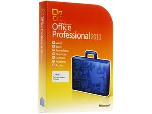 Office 2010 Professional Product Key Card (no media)