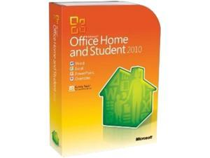 Microsoft Office Home and Student 2010 Product Key Card French