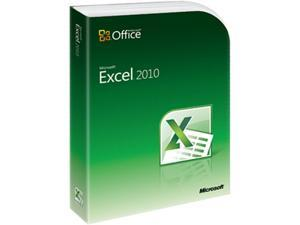Microsoft Excel 2010 - 1 PC Academic Version