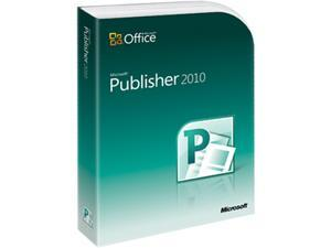 Microsoft Publisher 2010 - 1 PC Academic Version