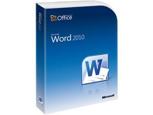 Microsoft Word 2010 - 1 PC Academic Version