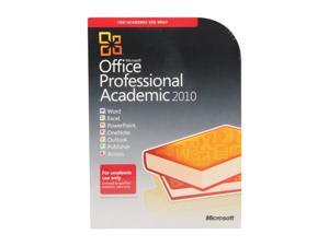 Microsoft Office 2010 Professional - 1 PC Academic Version