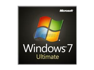 Microsoft Windows 7 Ultimate SP1 64-bit 3-Pack - OEM