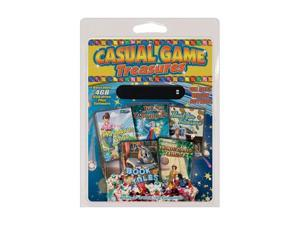 PC TREASURES CASUAL GAME TREASURES 5-PACK - 2 GB USB