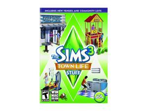 Sims 3: Town Life Stuff PC Game