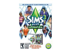 The Sims 3 Plus Supernatural (PC/MAC) PC Game