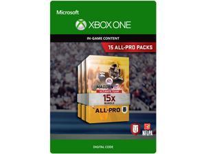 Madden NFL 17: 15 All-Pro Pack Bundle Xbox One [Digital Code]