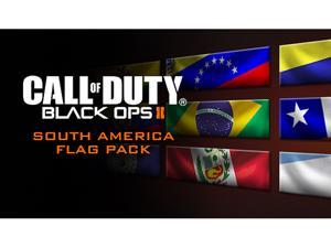 Call of Duty: Black Ops II South America Flags of the World Calling Card Pack [Online Game Code]