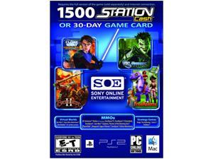 30 Day Universal Game Card/Station Cash PC Game