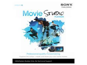 SONY Movie Studio Platinum 12 - OEM