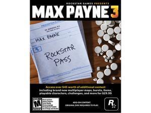 Max Payne 3 Rockstar Pass [Online Game Code]