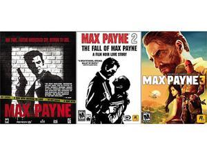 Max Payne Triple Pack (1 + 2 + 3) [Online Game Codes]