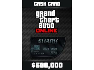 Grand Theft Auto Online: Bull Shark Cash Card - XBOX 360 [XBOX Live Credit]