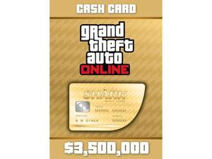 Grand Theft Auto Online: Whale Shark Cash Card - XBOX 360 [XBOX Live Credit]