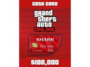 Grand Theft Auto Online: Red Shark Cash Card [Digital Code]